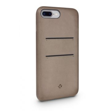 Relaxed Leather iPhone 7Plus/8Plus Warm Taupe