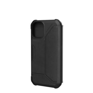Metropolis iPhone 12 Mini Cuir Noir