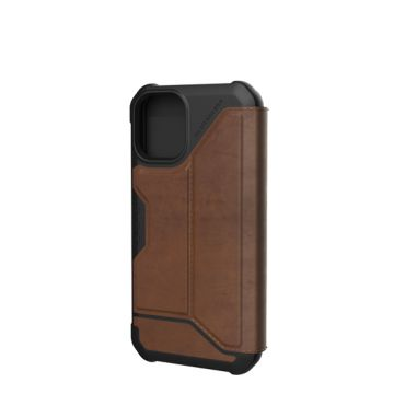 Metropolis iPhone 12 Mini Cuir Marron