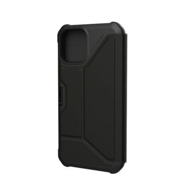 Metropolis iPhone 12 & iPhone 12 Pro Black PU