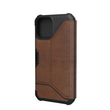 Metropolis iPhone 12 & iPhone 12 Pro Leather Brown