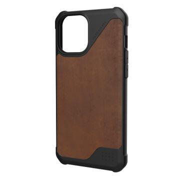 Metropolis iPhone 12 Pro Max LT Cuir Brown