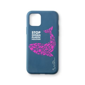 Stop Ocean Plastic iPhone 11 Pro Whale