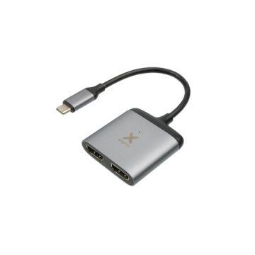 Hub USB-C to 2x HDMI