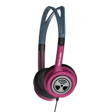 Casque EarPollution Toxix Rose Doré