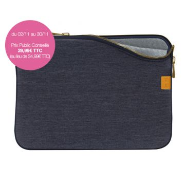 "Housse MacBook Pro/Air 13"" Denim Dark Blue"