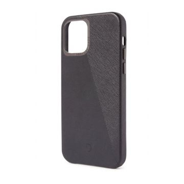 Dual Leather iPhone 12 Mini Noir/Space Grey