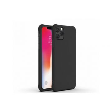 Coque Liquid TPU iPhone 11 Pro Max Noir Polybag