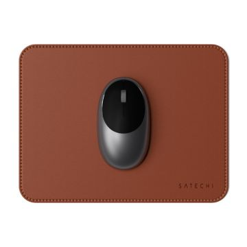 Eco-Leather MousePad Brown