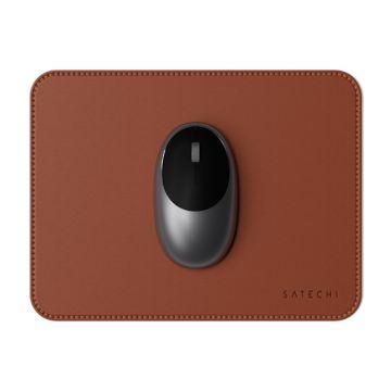 MousePad Cuir écologique Marron
