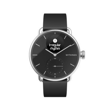 Connected watch Scanwatch 38mm Black